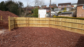 Alison Bockh Garden Design and Landscaping - North Devon - Entrance before work starts