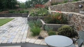 Alison Bockh Garden Design and Landscaping - North Devon - Planters and raised beds looking very happy