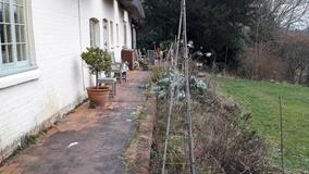 Alison Bockh Garden Design and Landscaping - North Devon - Patio in need of work