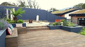 Alison Bockh Garden Design - Millboard decking and Raised beds