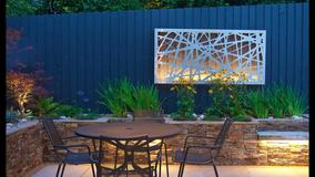 Alison Bockh Garden Design - Lighting makes for a very useable space at night.