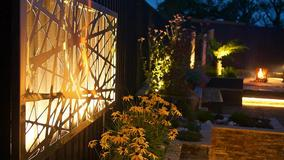 Alison Bockh Garden Design - Dimmable lighting