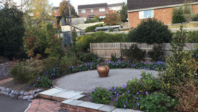 Alison Bockh Garden Design and Landscaping - North Devon - Entrance after work done